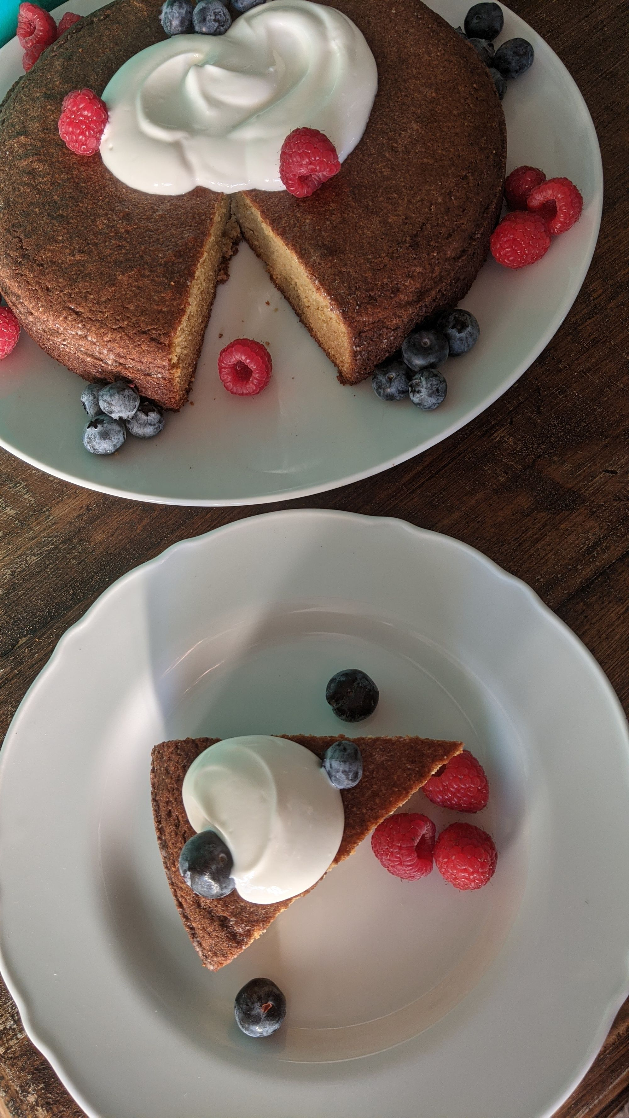 keto-friendly olive oil cake